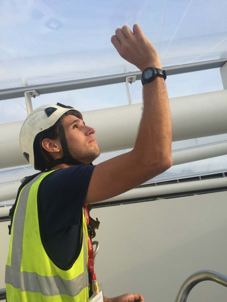 ETFE Inspections - Access North Structures